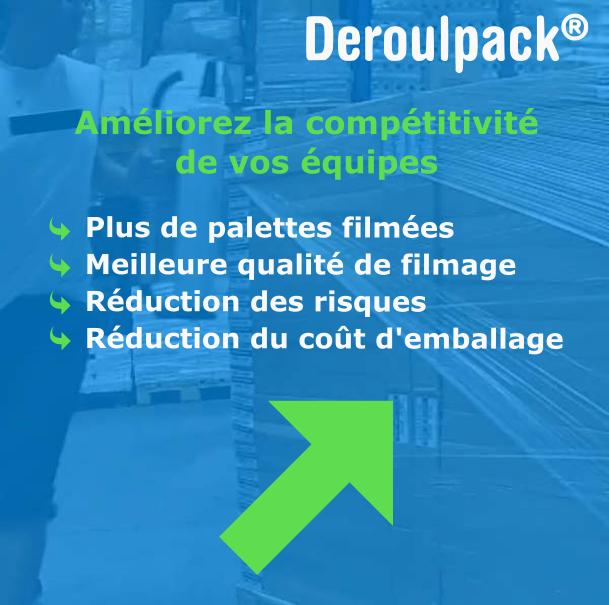 Amelioration competitivité Deroulpack
