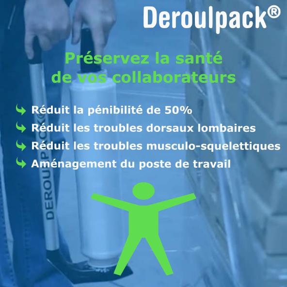 Réduction de la pénibilité de travail grâce au Deroulpack