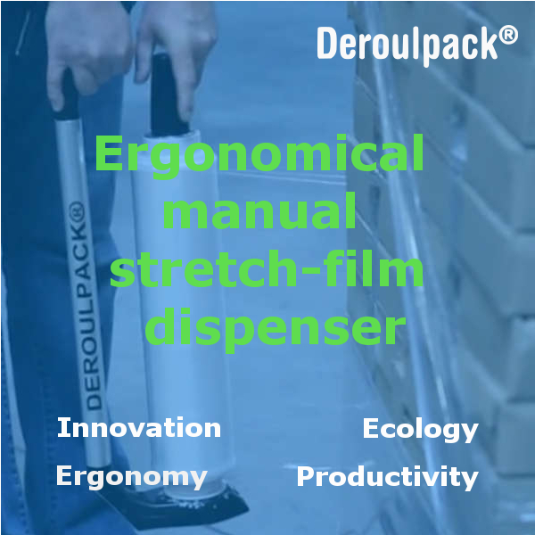 Deroulpack stretch-film dispenser