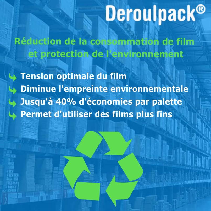 Deroulpack devidoir écologique et economique
